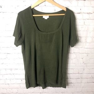Maurices Forest Green Top